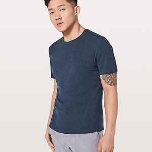 Lululemon Five Year Basic Tee Medium Navy Worn 1x